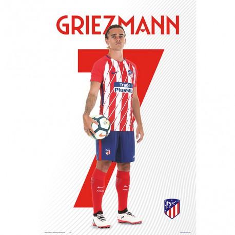 Poster Atletico De Madrid 20172018 Griezmann 458x458