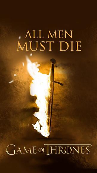Game Of Thrones   All Men Must Die iPhone 5C 5S wallpaper 325x576