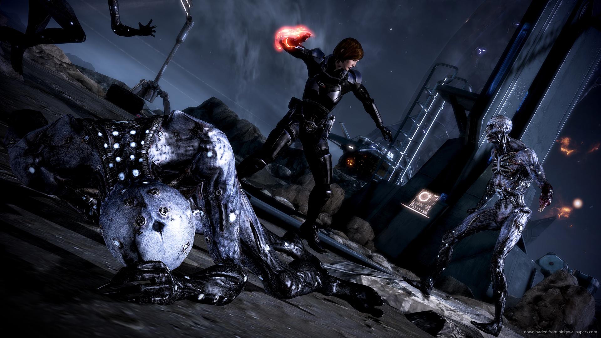 Free Download Mass Effect Femshep Wallpaper 1920x1080 1920x1080