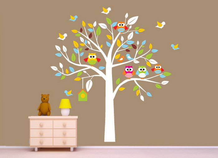 Wallpaper for baby girl room wallpapersafari for Baby room decoration wallpaper