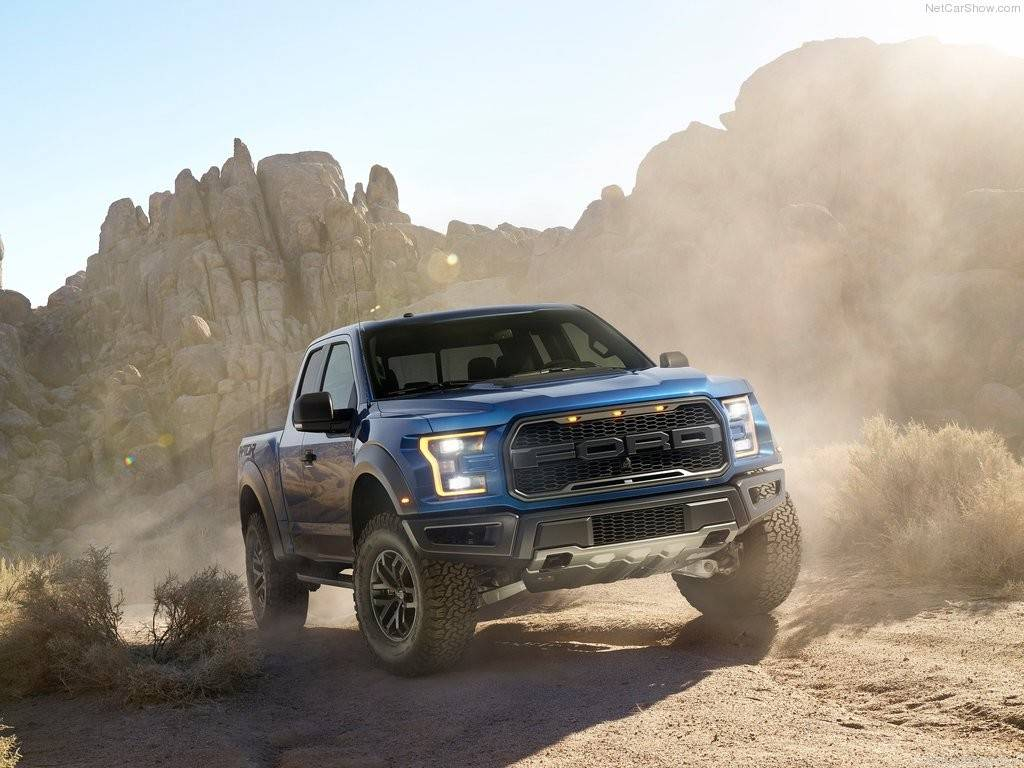 2017 Ford F150 Raptor loses weight gets more power GT Speed 1024x768