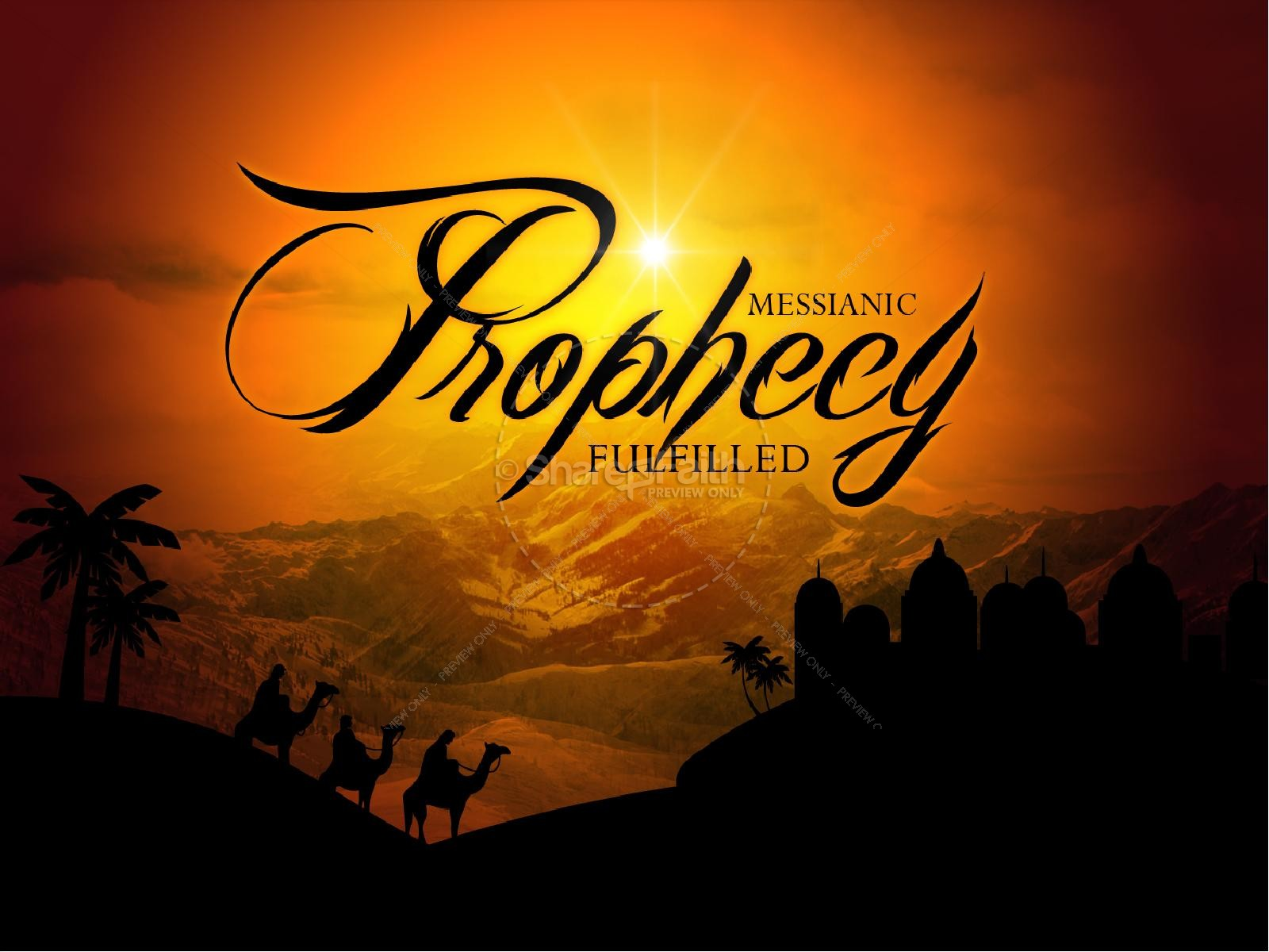 Messianic Prophecy Fulfilled Christmas PowerPoints 1600x1200