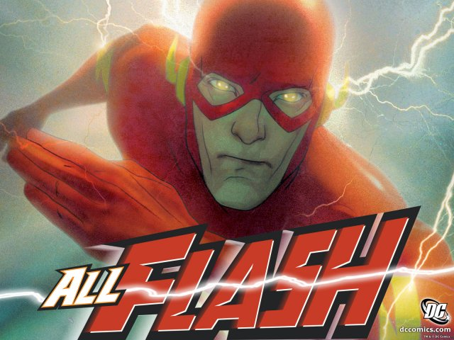 The Flash desktop wallpaper 640x480