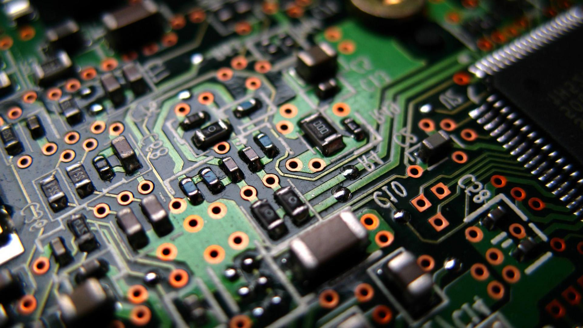 3d electronic circuit wallpapers wwwpixsharkcom