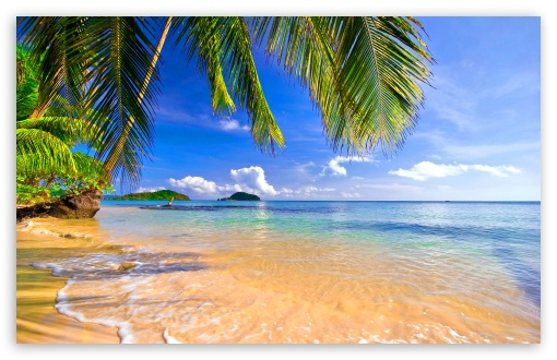 Hd Tropical Island Beach Paradise Wallpapers And Backgrounds: Tropical Beach Phone Wallpaper