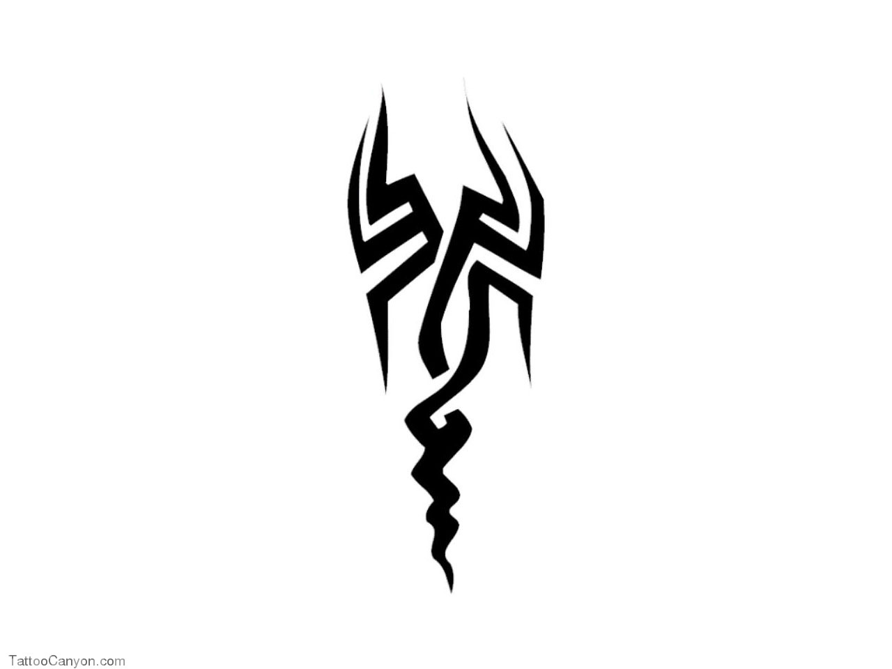 Tribal Sign Like Scorpion Tattoo Wallpaper Picture Short News Poster 1280x960