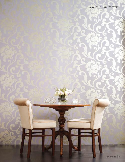 Designer Wallpaper   Euphoria Wallcovering Collection 502x650