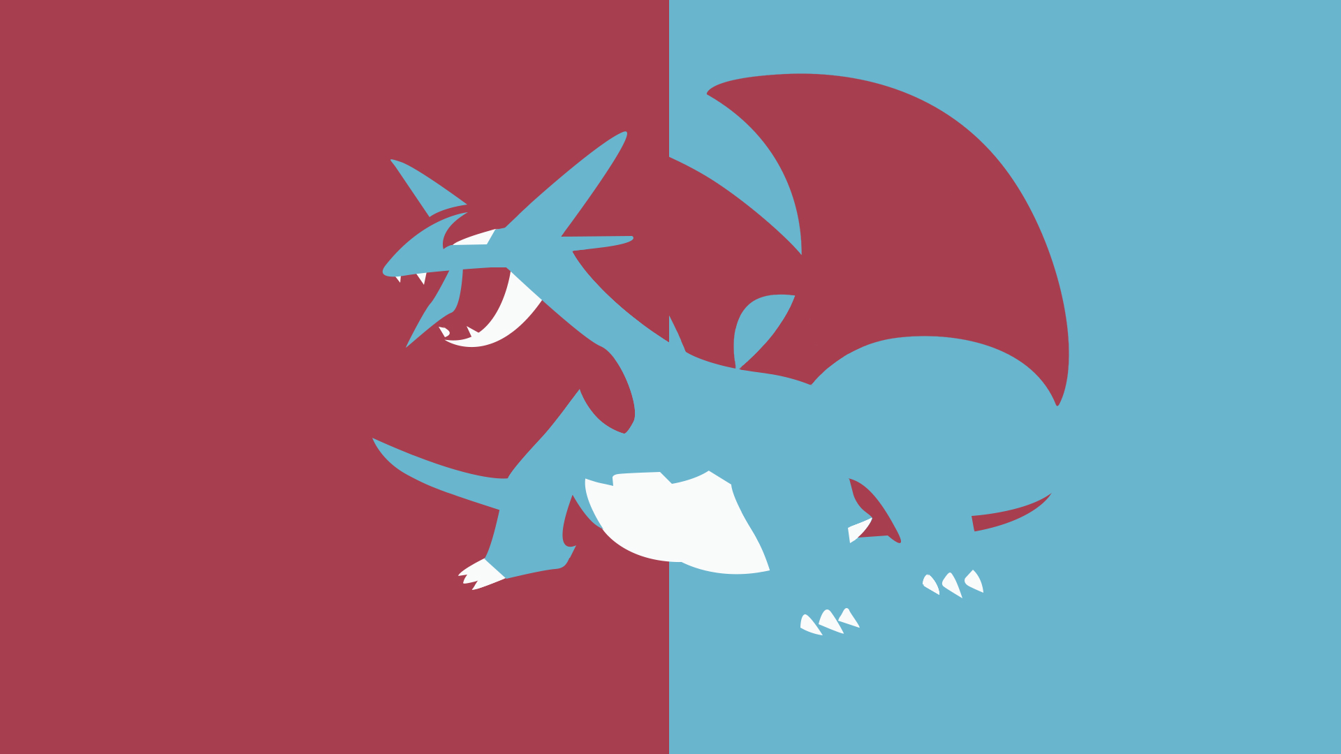 Modern background image of Salamence 1920x1080 More in comments 1920x1080