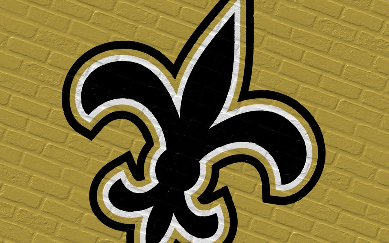Detail New Orleans Saints Logo 1280x800