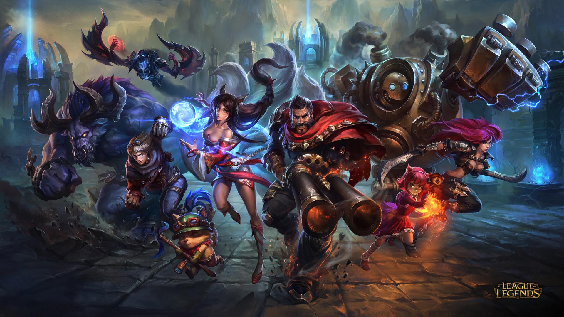 League of Legends wallpaper | SiliconANGLE