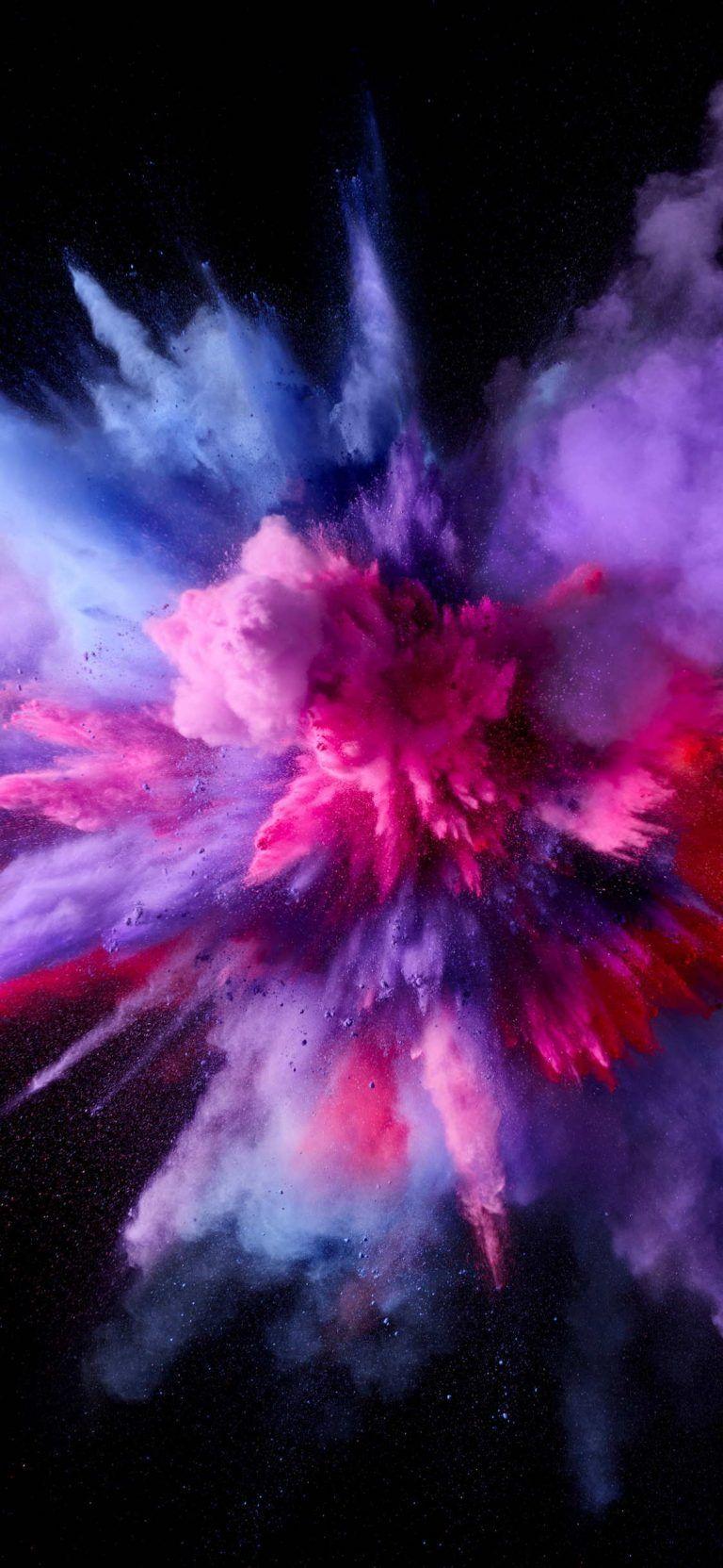 Beautiful Wallpapers For Apple iPhone X Art Smoke wallpaper 768x1663