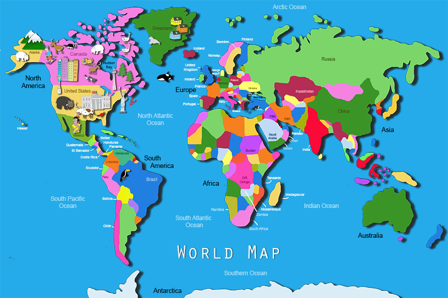 World map wallpaper for kids wallpapersafari world map for kids hd walls find wallpapers 886x589 gumiabroncs Images