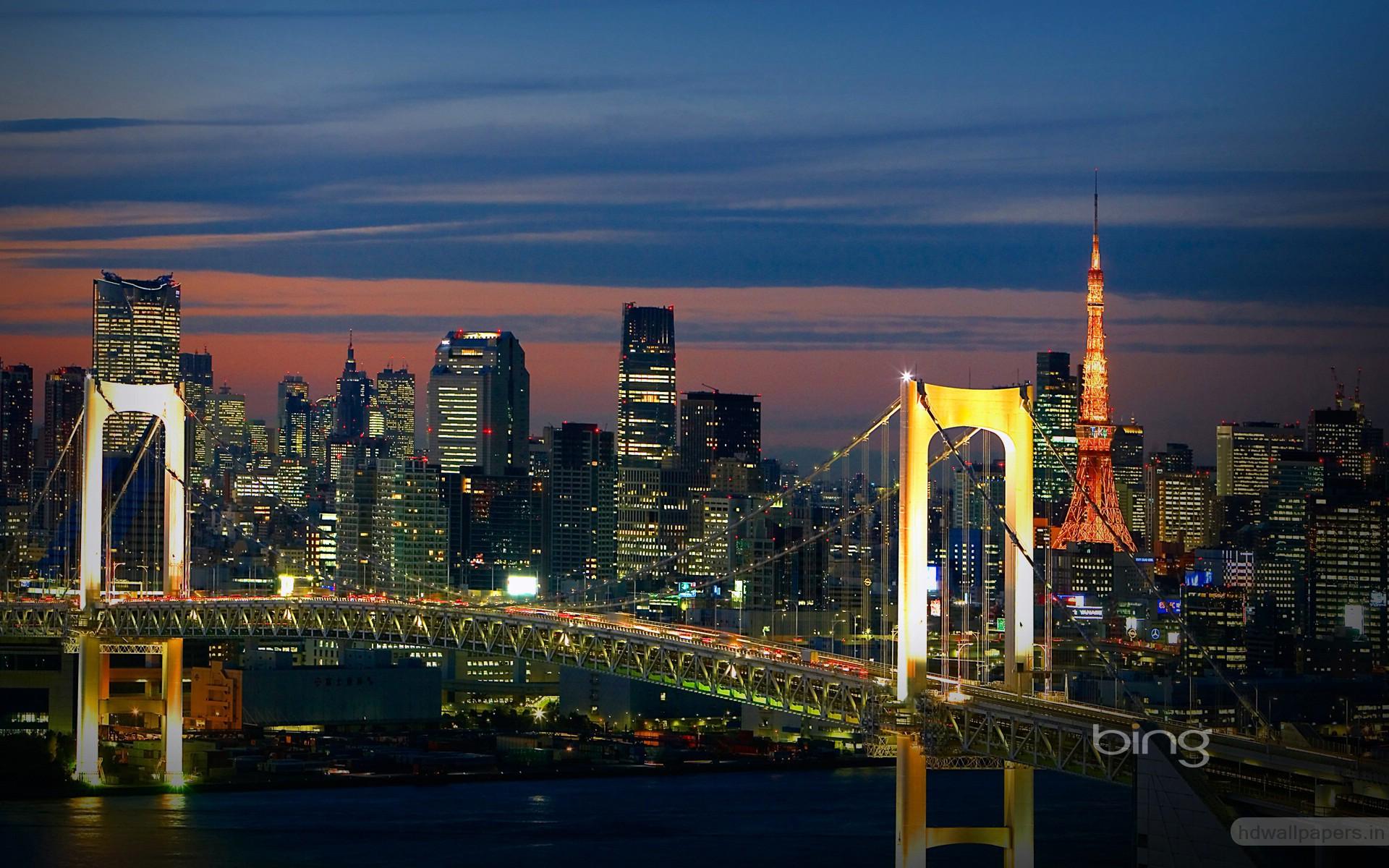 Tokyo Bridge Japan Wallpapers HD Wallpapers 1920x1200
