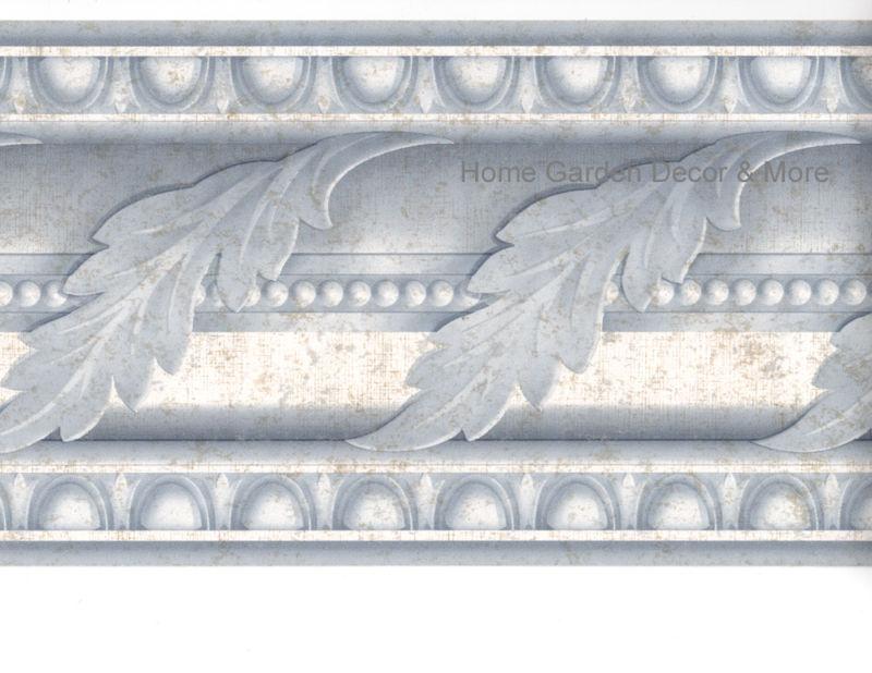 Leaf Scroll Crown Molding Moulding Egg Dart Wall Paper Border eBay 800x618