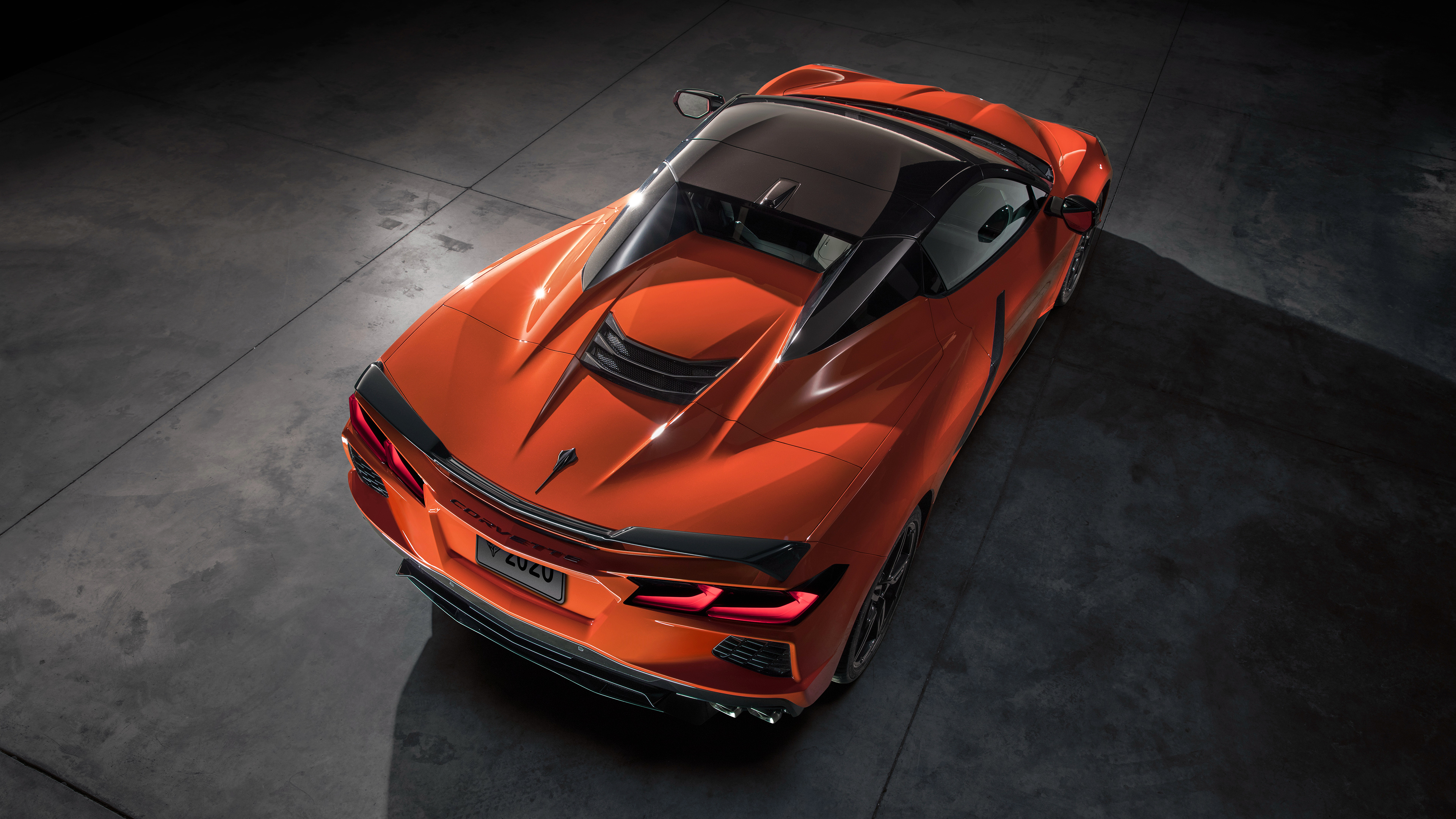 2020 Chevrolet Corvette Stingray Convertible Z51 4K 2 Wallpaper 3840x2160