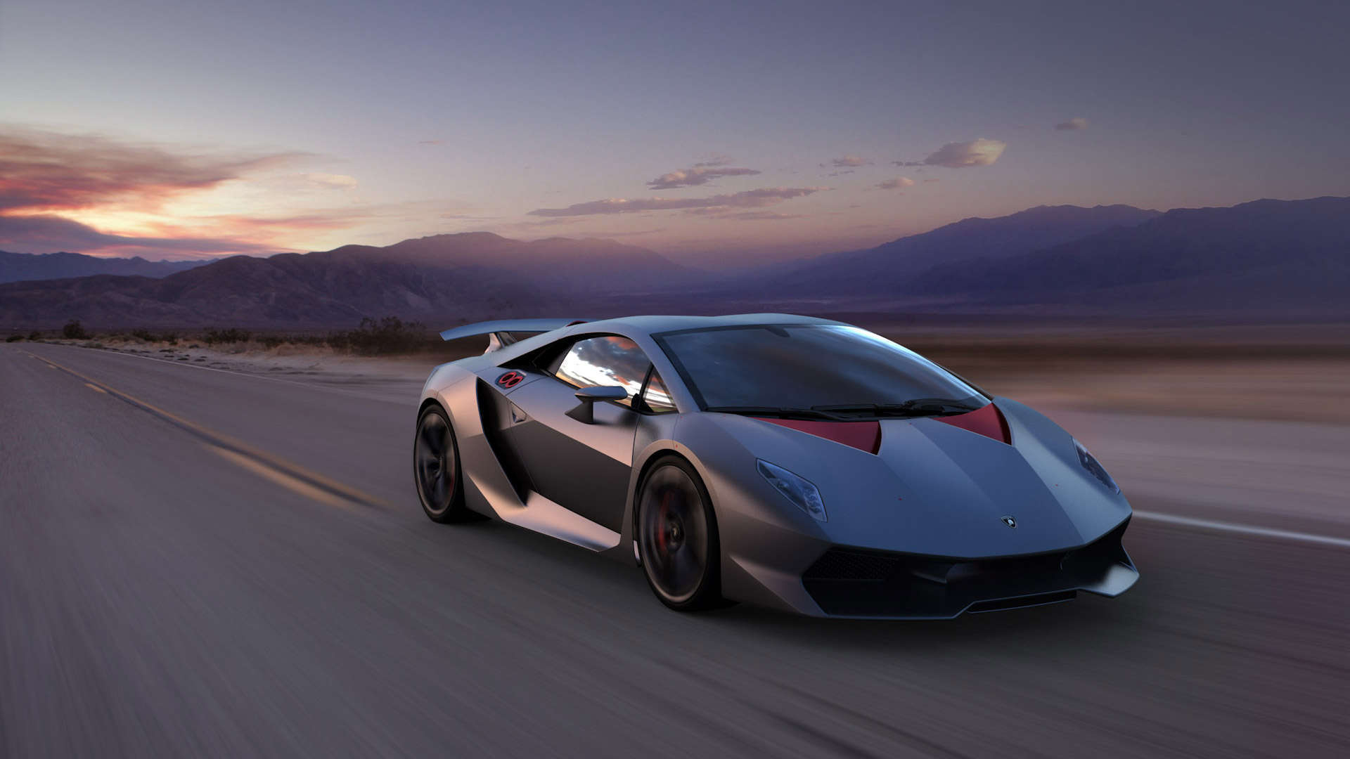 Wallpaper Lamborghini Sesto Elemento HD Wallpaper 1080p Upload at 1920x1080