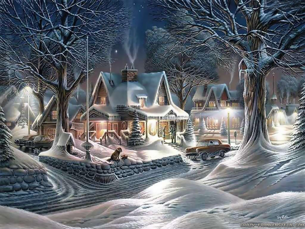 town desktop wallpaper download beautiful christmas town wallpaper 1024x768