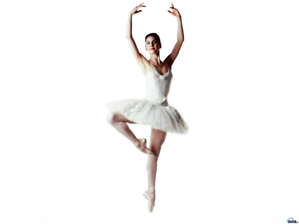 Wallpaper white ballerina Ballet Dancer 1024x768