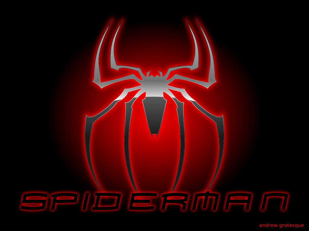 Spiderman Logo Wallpaper 5948 Hd Wallpapers in Logos   Imagescicom 1024x768