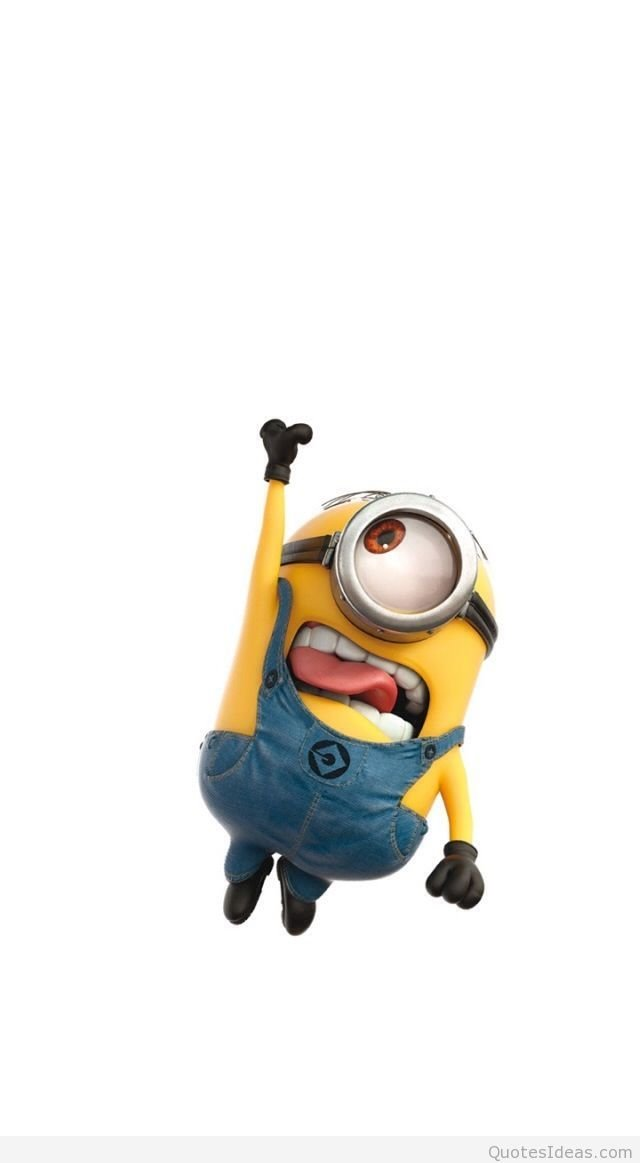Funny minion wallpaper for Iphone 6 640x1163