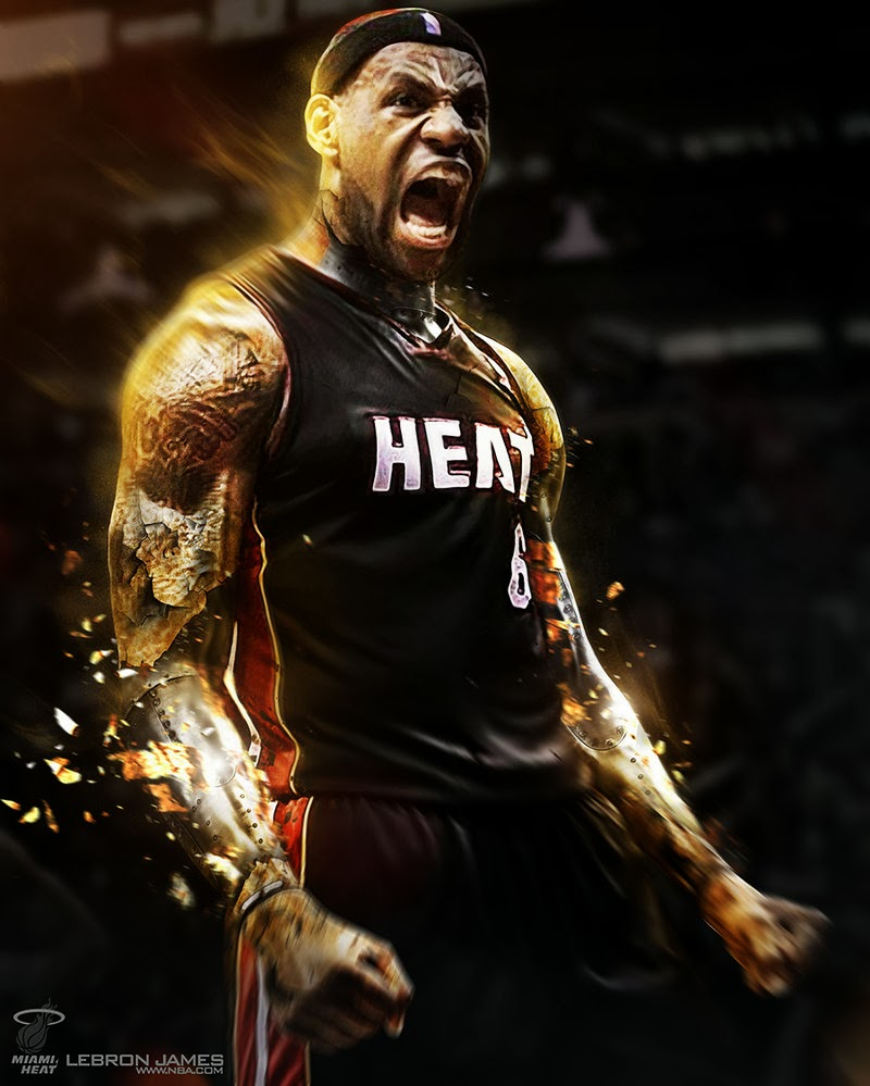 Free Download Lebron James Hd Wallpaper Backgrounds Miami Heat For