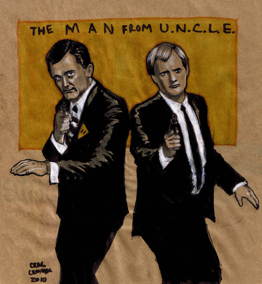 The Man from UNCLE by craigcermak 859x929
