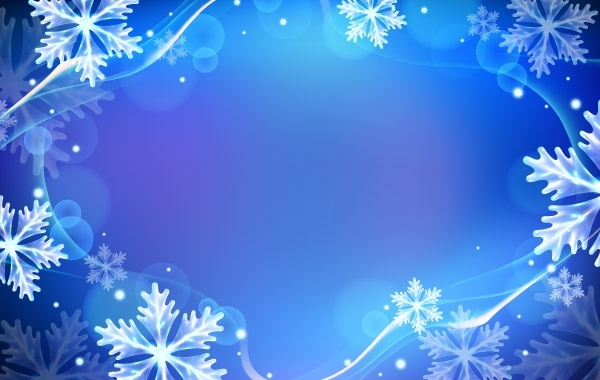 Winter Backgrounds 600x380