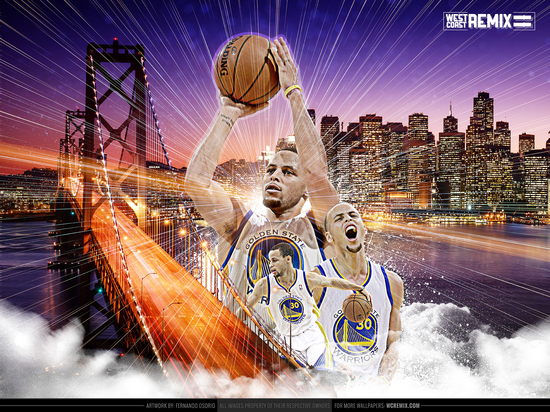 Steph Curry NBA Finals Wallpaper