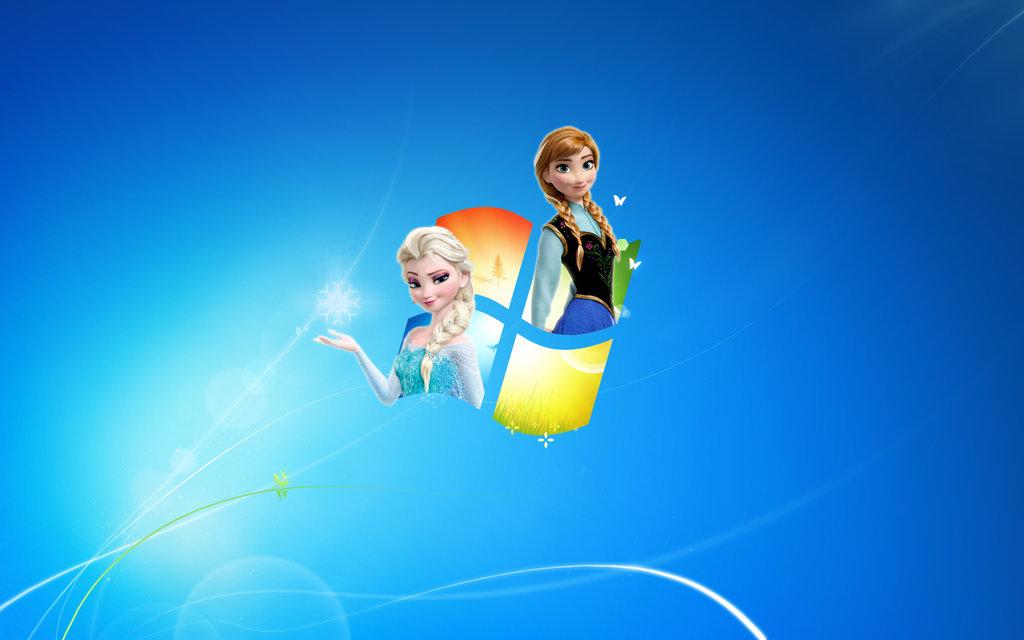 Frozen Windows Desktop Wallpaper By Doragoon by Doragoon on 1024x640