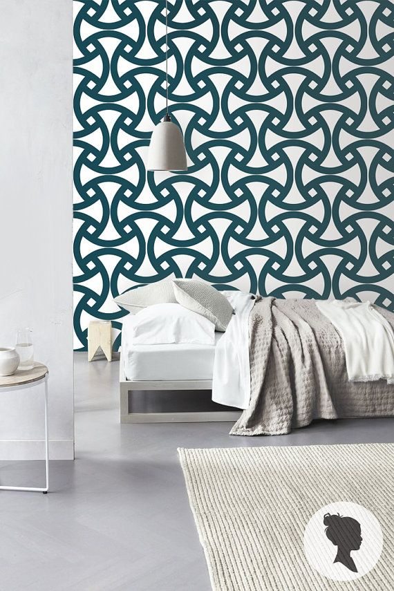 Geometric Pattern Self Adhesive Vinyl Wallpaper Z062 by Livettes 34 570x855