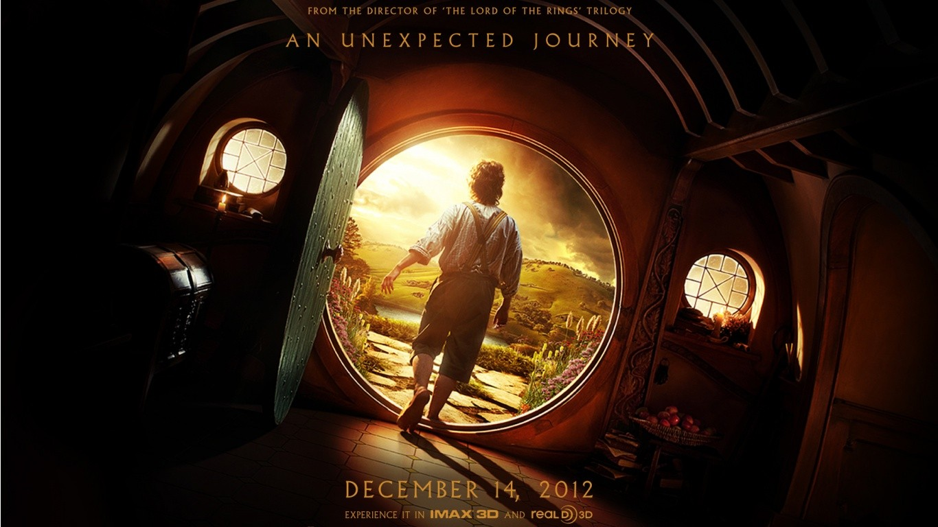 The Hobbit Wallpaper 1366x768 The Hobbit The Shire 1366x768