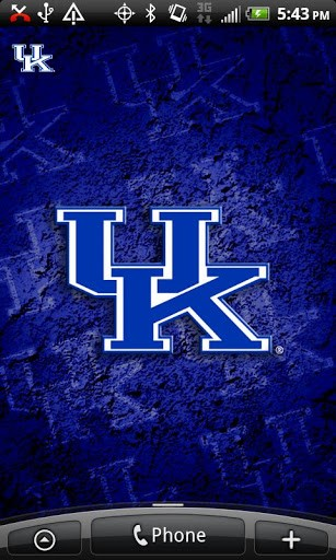Kentucky Revolving Wallpaper App for Android 307x512