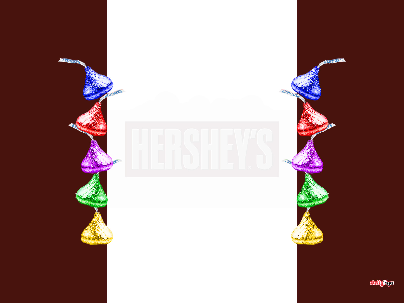 Hersheys Kisses Blogger Layout Template Blog Background Jelly 1600x1200