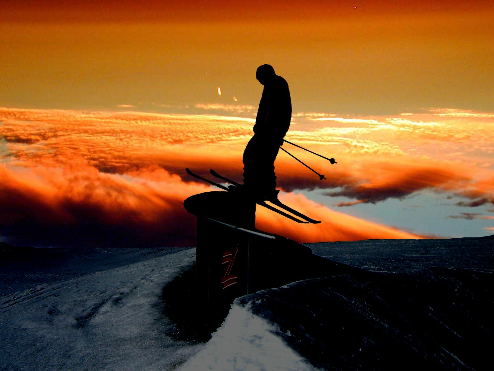 Awesome Ski High Resolution wallpaper 1600x1200