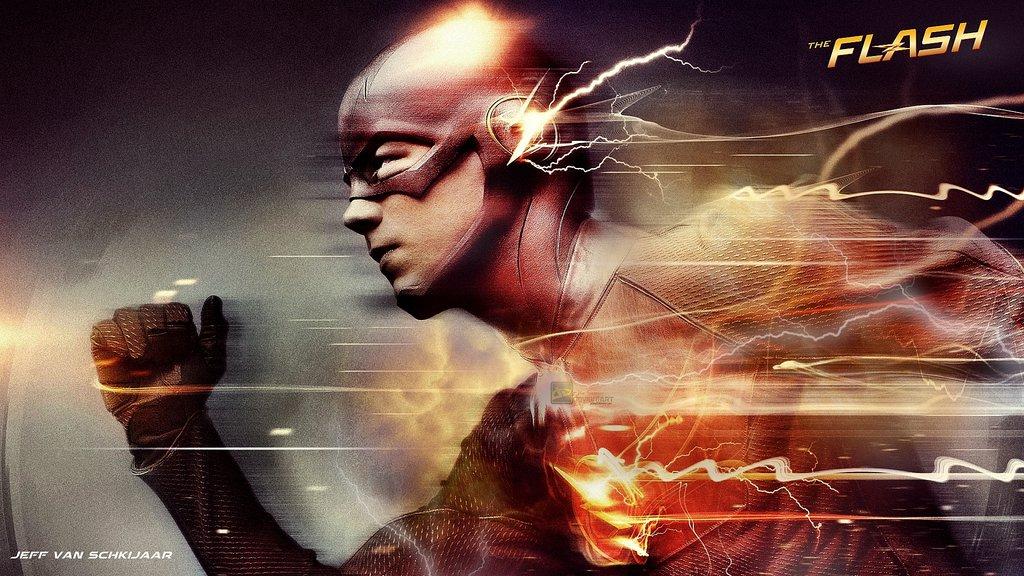 The Flash Barry Allen Wallpaper by jeffery10 1024x576