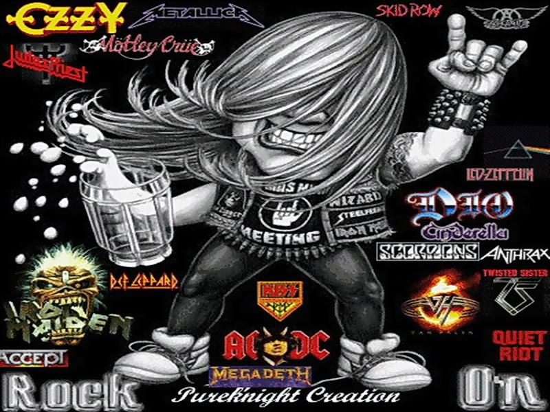 comMusic80sbandsbeerguyhippie 80s bands Rock On Music80s 800x600