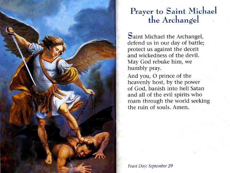 archangel michael prayer - 735×551