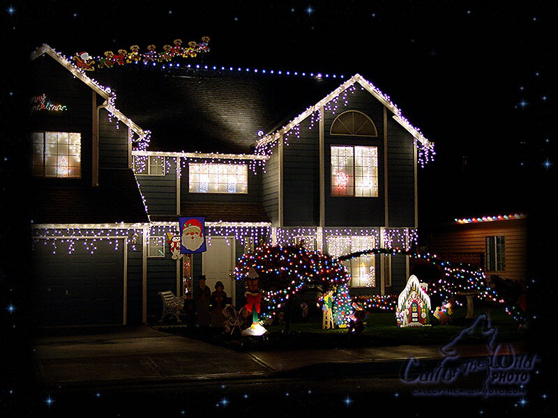 lights for christmas village 800x600