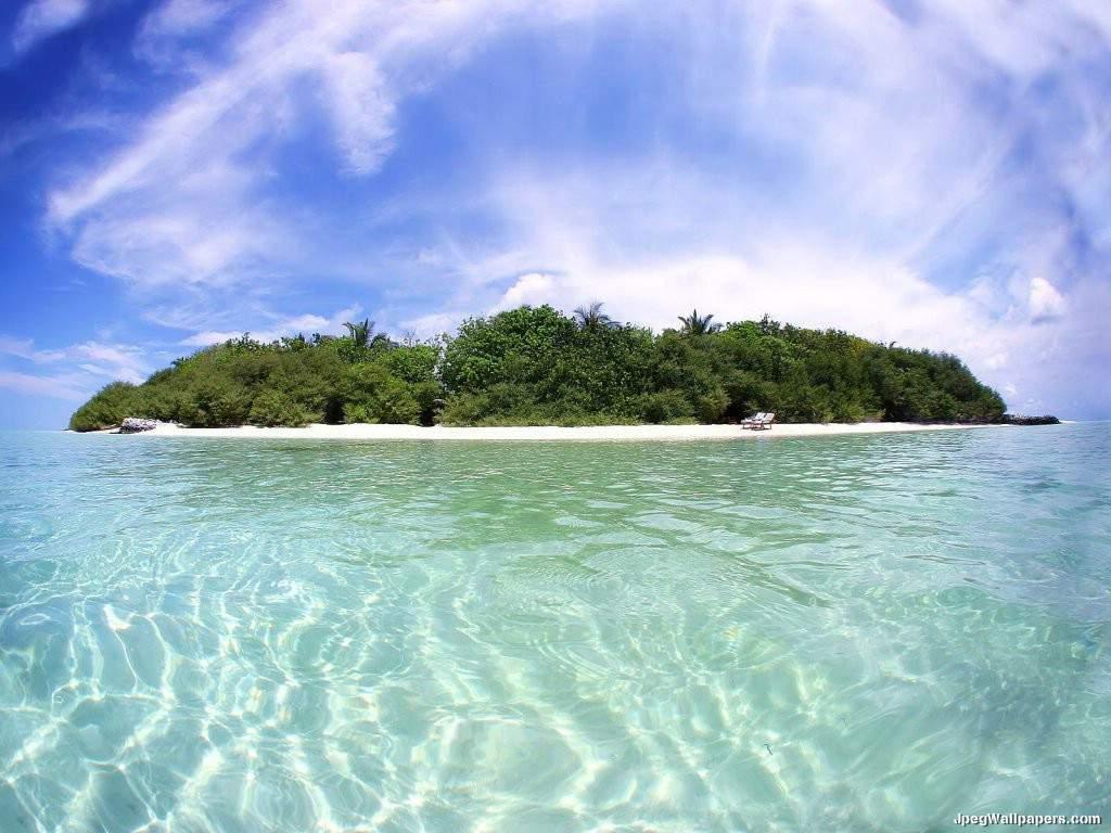 Paradise Island wallpaper 1024x768