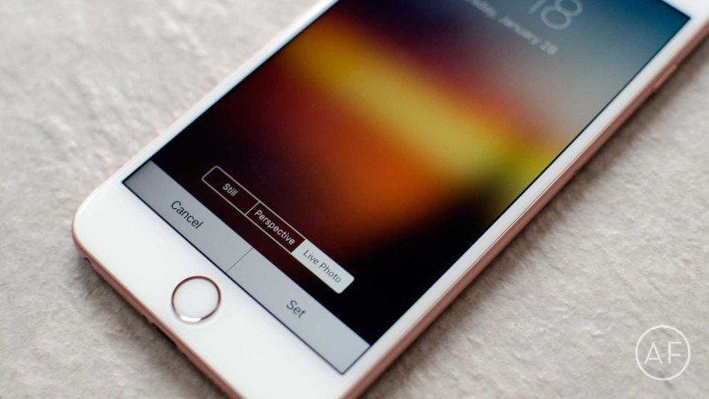 ... picture a Live Wallpaper on iPhone 6s and iPhone 6s Plus | Cult of Mac