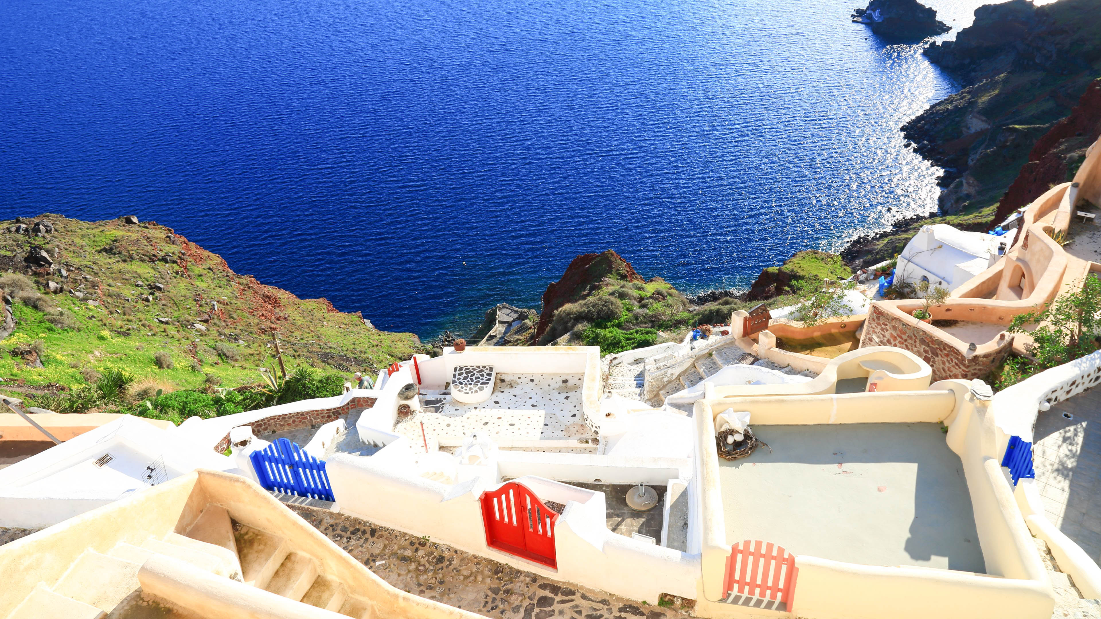 Santorini Amazing HD Wallpapers High Resolution   All HD Wallpapers 3840x2160
