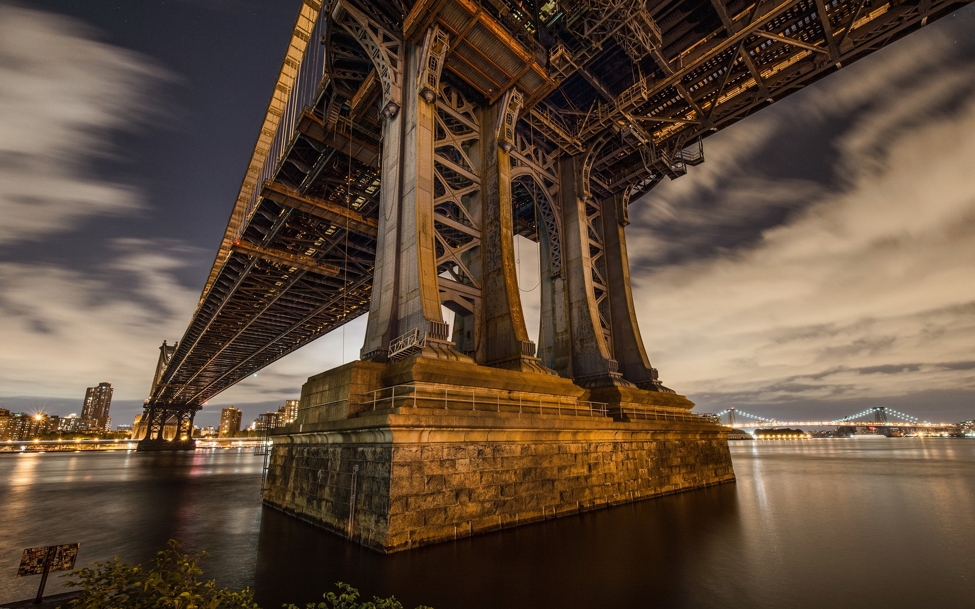 Manhattan Bridge Wallpapers and Background Images   stmednet 1920x1200