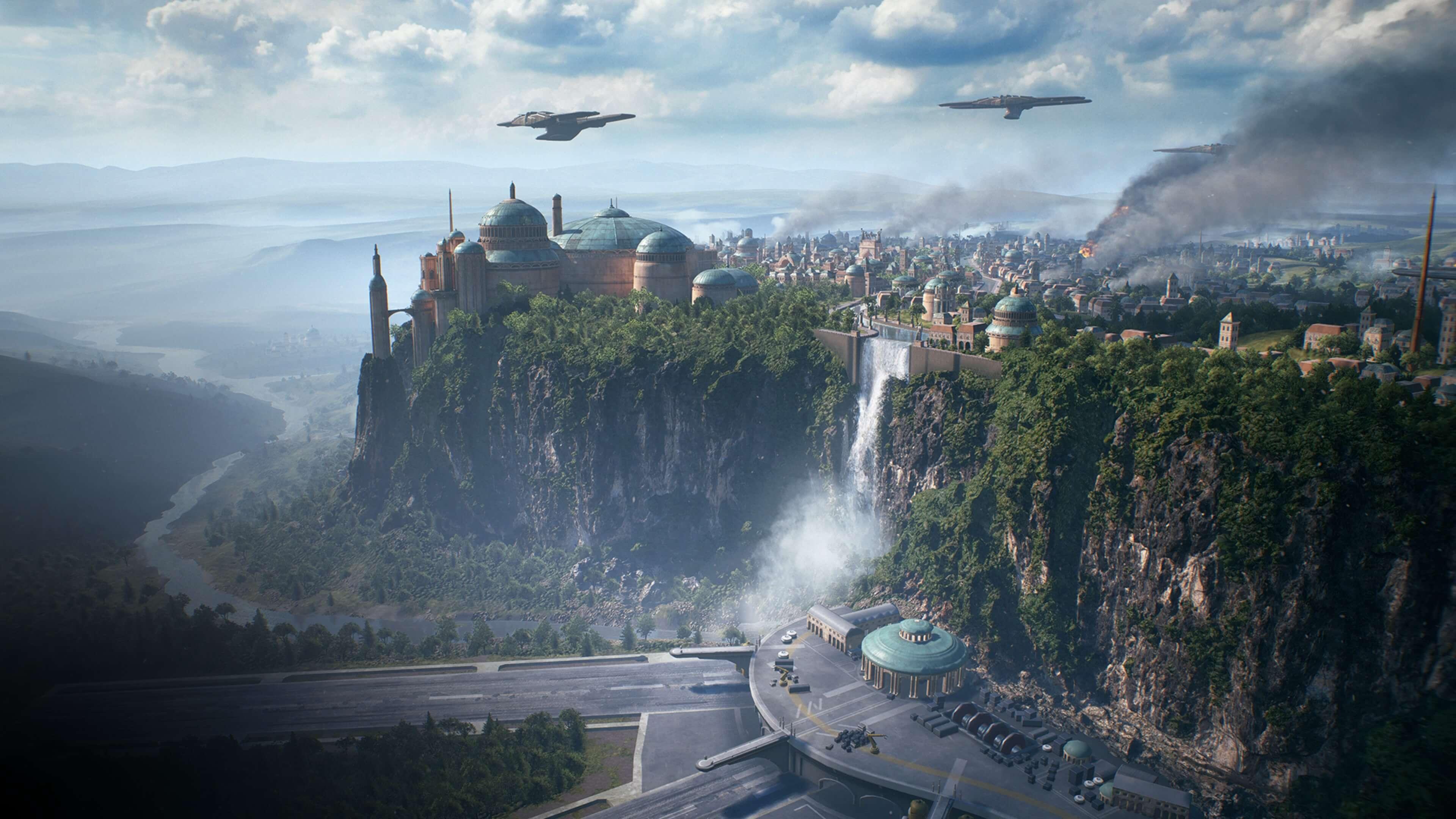 Star Wars Battlefront II 2017 4k Ultra HD Wallpaper Background 3840x2160