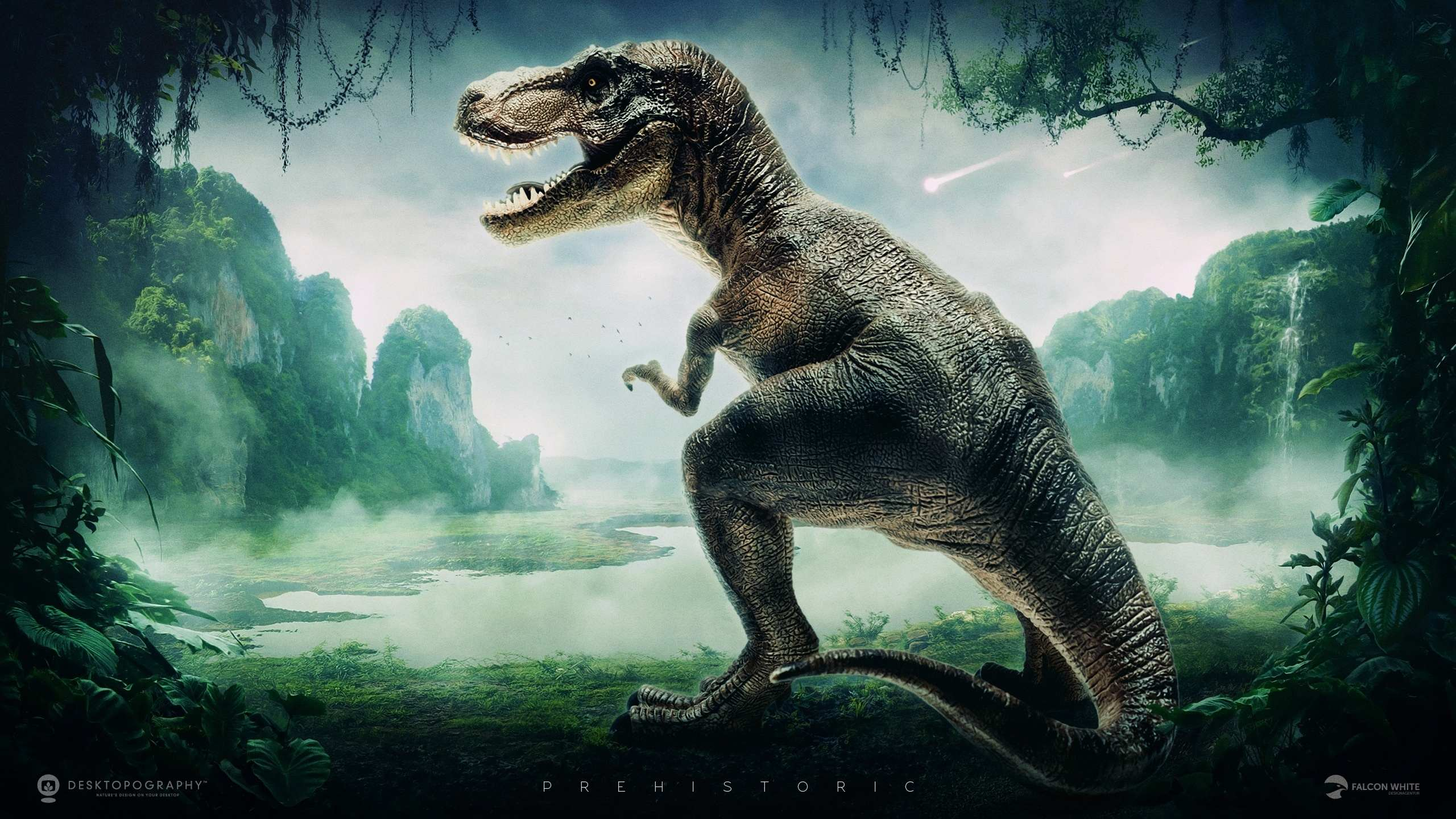 T Rex Dinosaur Wallpaper and Tyrannosaurus Rex Wallpapers 2560x1440