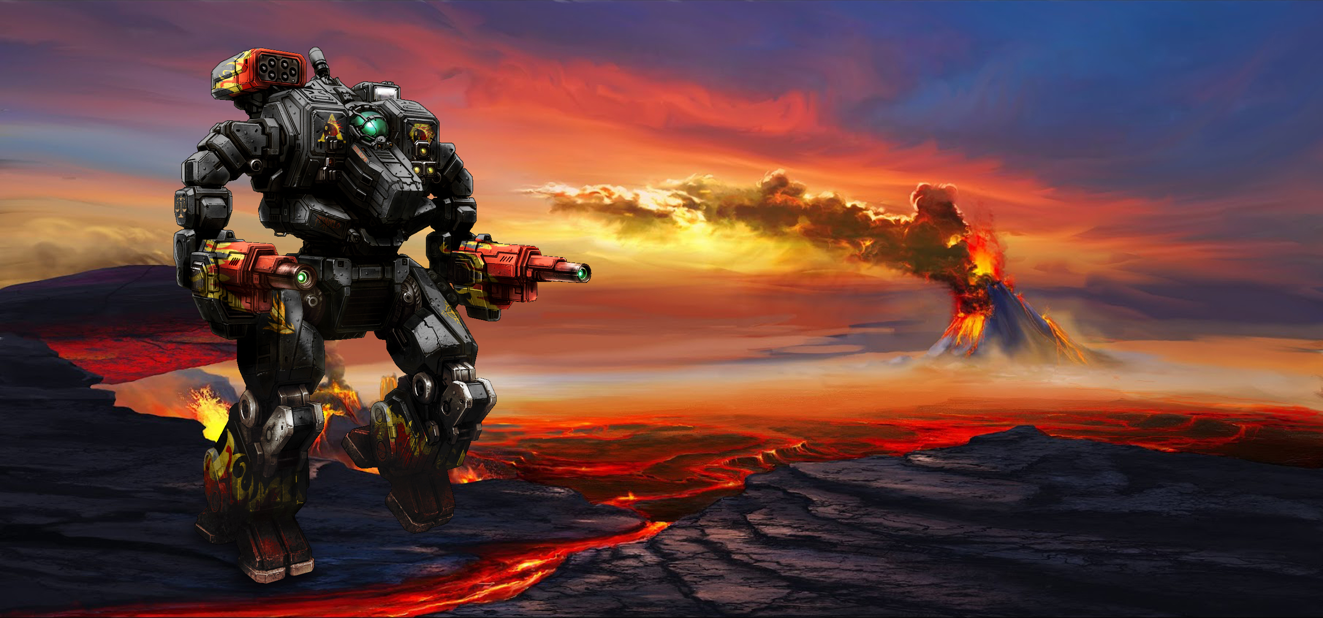 MWO Hellbringer Loki wallpaper by Odanan 2715x1269