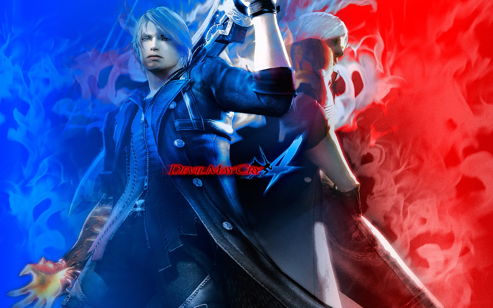 Free Download Devil May Cry 4 Desktop Wallpaper 1920x1200 For