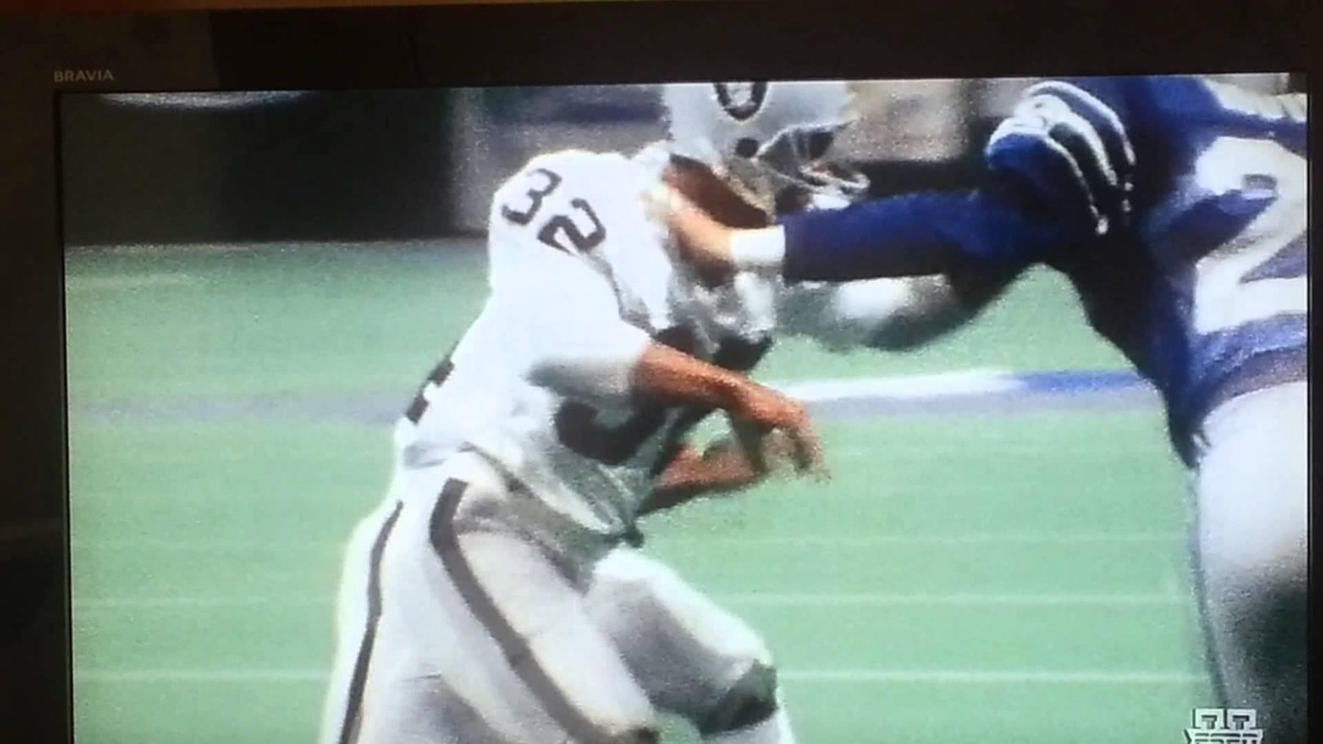 Bo Jackson runs over Brian Bosworth 1920x1080