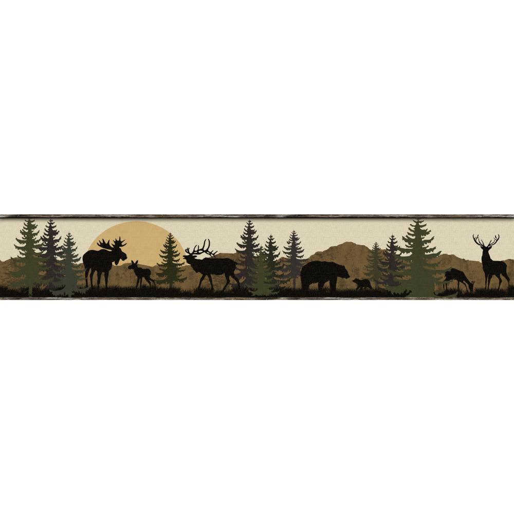 moose   Wallpaper Border Wallpaper inccom 1000x1000