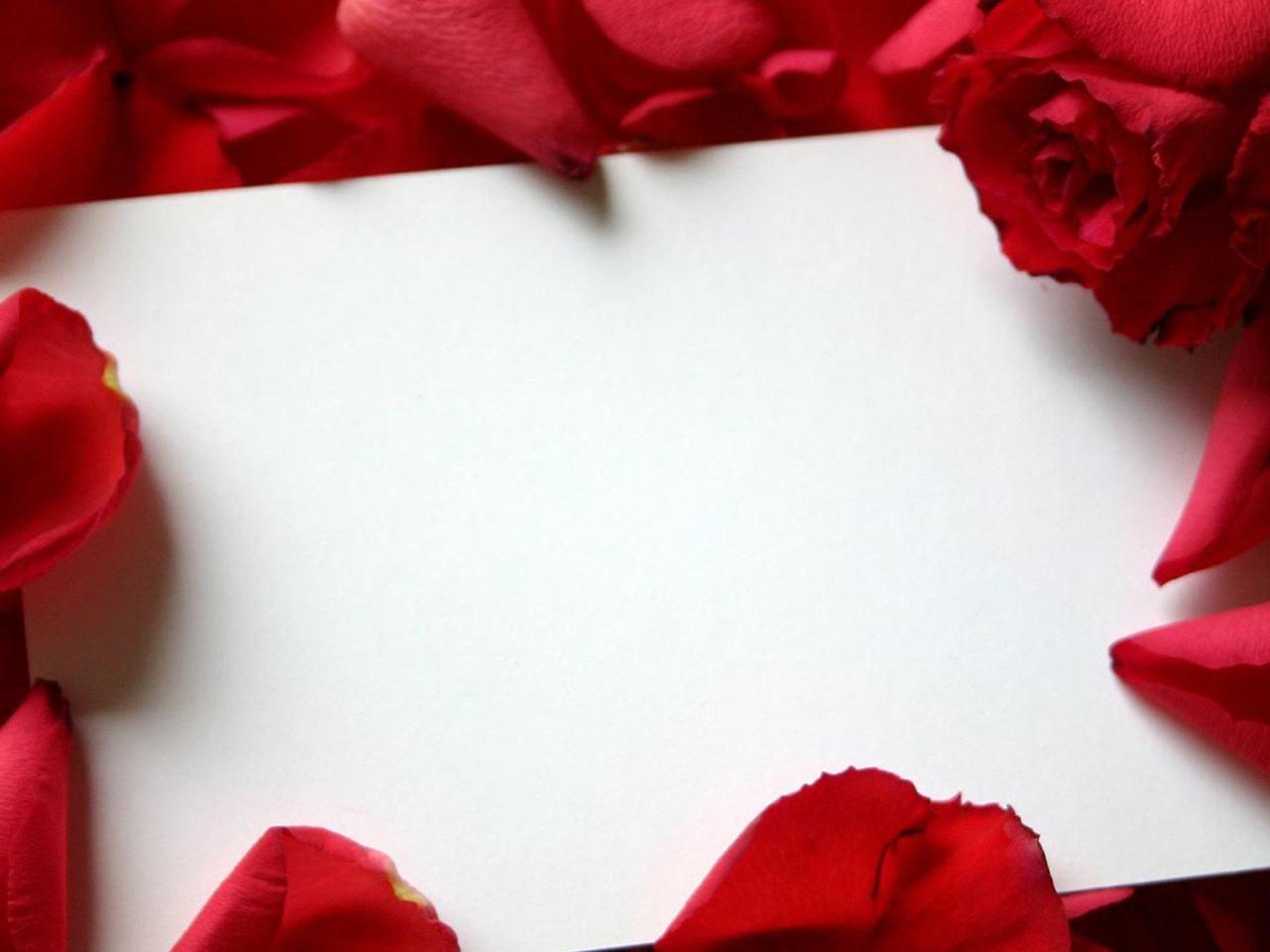 Description Roses Love Letter 1280x960 Wallpapers 1280x960