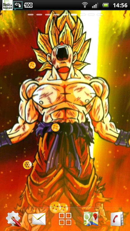 wallpaper dragon ball z live wallpaper dragon ball lwp dragon ball z 450x800